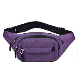 Midjeväskor Fanny Pack Lila Purple