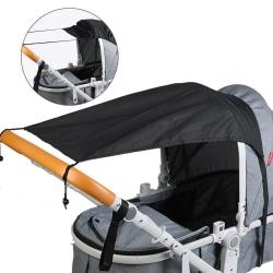 Barnvagn Skuggväska Barnvagn Paraplyöverdrag SVART black