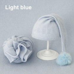 Spädbarn fotografering rekvisita Nyfödd fotografi Wrap filt för