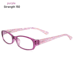 Läsglasögon Anti-blå ljusglasögon LILLA STYRKA 150 purple Strength 150