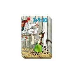 Kortspel - Findus 1+9=10