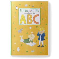 Skrivbok - Ellen och Olle kan skriva och läsa ABC