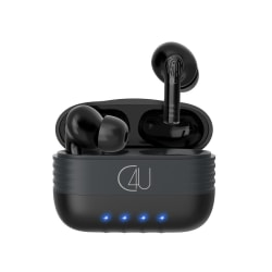 TWS Trådlösa Bluetooth Hörlurar C4U® X350S med 18 timmar Svart