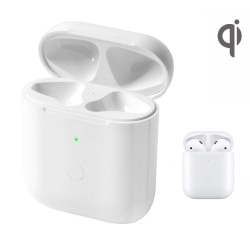 Qi Laddningsetui laddbox för AirPods AirPods 2 Bluetooth Vit