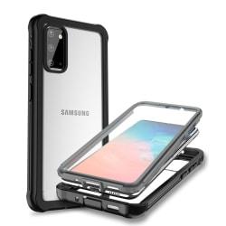 C4U® Shockproof Defence - Galaxy S20 Ultra  - Stötdämpande skal  Svart