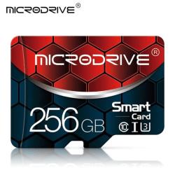 Minneskort/Micro SD-kort + SD-adapter, 256GB