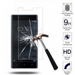 (BULK) 10ST Skärmskydd Nokia 3 | Härdat glas Premium Guld