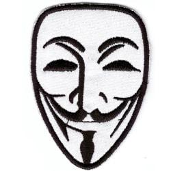 Anonymous Broderat Tygmärke