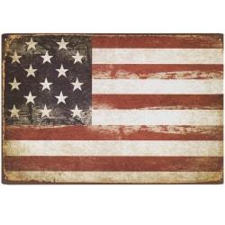 Usa Flagga Metallskylt