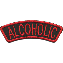 Alcoholic Broderat Tygmärke