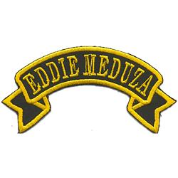 Eddie Meduza Broderat Tygmärke