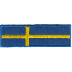 Svenska Flaggan Broderat Tygmärke