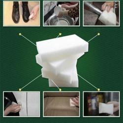 10 / 20st Magic Sponge Eraser Cleaner Home Kitchen Office Car Di White