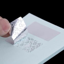 100 st Tom säkerhetsförsegling manipuleringssäker garanti ogiltig etikett stic