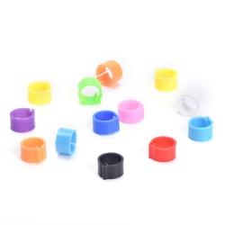 100st Duvor Ringar 8mm Bajonett Identifiering Ring Duva Foo multicolor 8mm