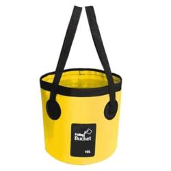 12L 20L Vattentät vattenpåse fällbar hinkförvaring Fiskekamera Yellow 12L