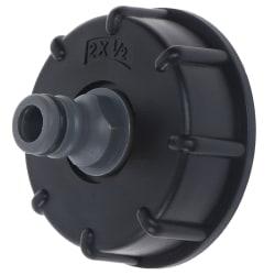 1st IBC-slangadapter Reducer Connector Vattentankmontering 2 '' ''