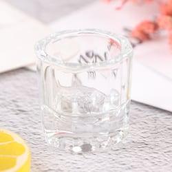 1X Dentistry Mixing Bowls Glass Dappen Rätter Reconcile Cup Den White