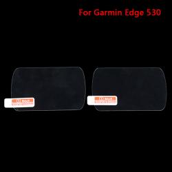 2 X Premium skärmskydd i härdat glas för Garmin Edge Pro 530
