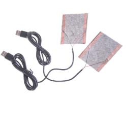 2st skyddbar USB-värmare varmvattenplatta för skor Go 0 0