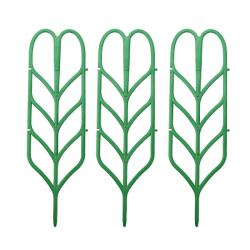 3st DIY Plant Support Frame Artificiell Mini Klättring Trellis Fl