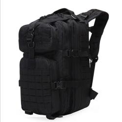 40L militär taktiskt pack ryggsäck armé vattentät väska ut väska Black