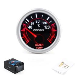 52 mm vit LED-temperatur temperaturmätare med sensor S