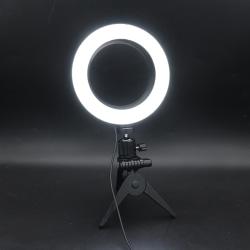 "6 ""LED-ringlampa Selfie Camera Live Dimbar telefon Studi D"