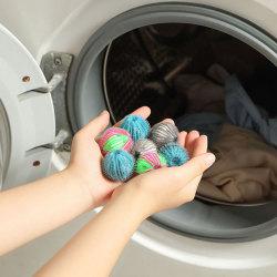 6st nylon tvättboll dekontaminering tvättmaskin skydda