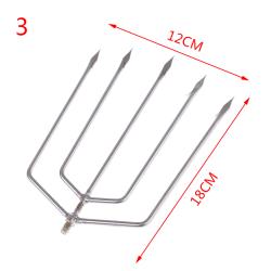 8 MM Trådhuvud harpun fiske groda lax taggdyk spjut A3