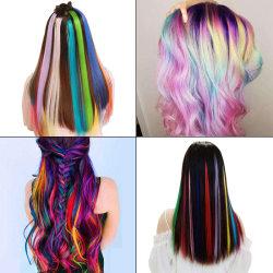 8st bärbart hår krita DIY tillfällig pastellfärgad färg färg pa