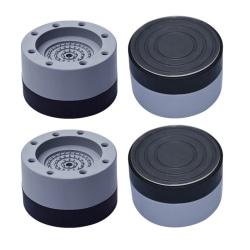 4st universal fast halkfri pad anti vibrations fötter kuddar washi