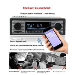 Bluetooth Retro bilradio MP3-spelare Stereo USB AUX klassisk bil