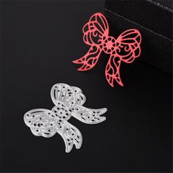 Butterfly Knot Metal Cutting Dies För Scrapbooking DIY Album Pa