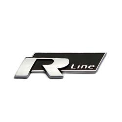 Car Trunk Metal Rline R-LINE Emblem Badge Sticker för VW CC GTI black