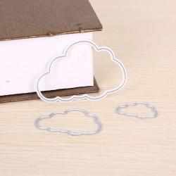 Cloud Metal DIY Cutting Dies Stencil Scrapbook Album Paper Card cloud