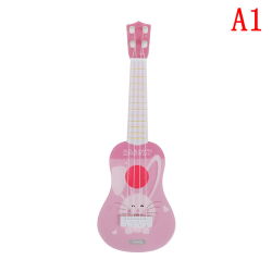 Roliga ukulele musikinstrument barn gitarr montessori leksaker ed A1