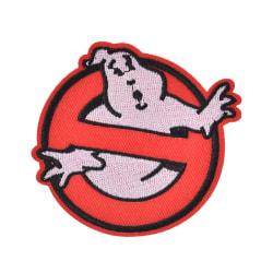 ghostbusters filmer inga spöken logotyp broderat järn / sy på patc 9cmX8.1cm