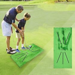 Golfträningsmatta Mini Golf Practice Training Aid Present till hemmet