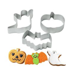 Halloween Ghost Pumpkin Bats Cross Sugar Cookies Cutter Cake De A