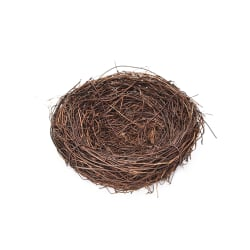 Handgjord Vine Brown Bird Nest House Home Nature Craft Holiday D 12 number
