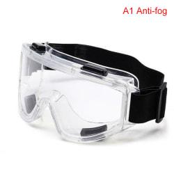 Medicinskt tydligt skyddsglasögon Ögonskydd Anti-dimma