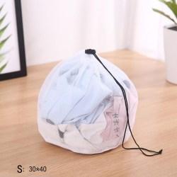 Mesh Tvättpåse Maskintvättbara tvättväskor för underkläder Br Large