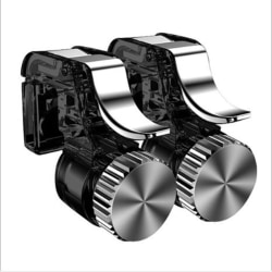Metal Gamepad PUBG Mobile Trigger Control Smartphone Controller Black
