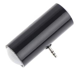 Mini-högtalare Stereo 3,5 mm förstärkare USB bärbar för MP3 / 4 Mobi Black