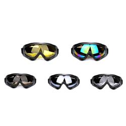 Motocross skyddsglasögon hjälmar Skyddsglasögon Ski Sport Gafas för motorcykel colour