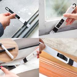 Multifunktionell datorfönsterrengöringsborste Fönster Groove Keyb White