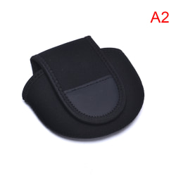 Reel Bag Baitcasting Fiskehjul skyddande ärm vattendroppe Black A2
