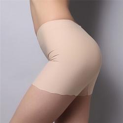 Summer Lady Seamless Safety Shorts Leggings Byxor Fri storlek Nude Free Size