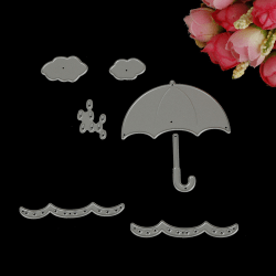 Paraplymetallskärmunstycken för DIY Scrapbooking-foto onesize